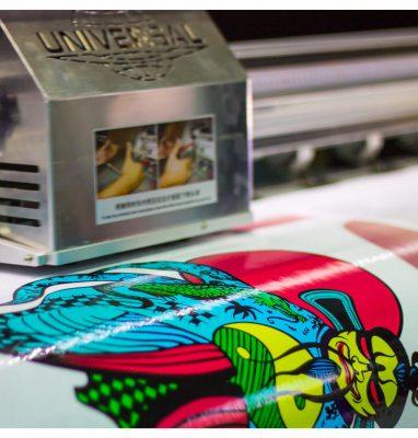 рекламная печать на пленке