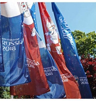 фото флаги флагштоки